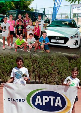 Torneo categorías benjamín y alevín del Circuito provincial de tenis de Castellón