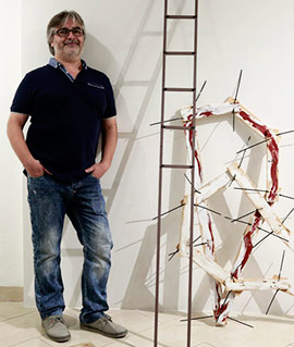 Inauguración de la exposición de Joan Callergues