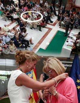 El Ayuntamiento de Castellón concede la Medalla de Oro de la ciudad al Instituto Francisco Ribalta