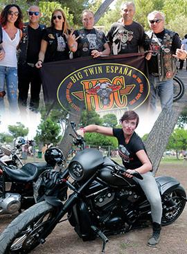 Concentración Harley-Davidson Big Twin en Castellón