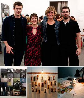Inauguración de la exposición de las Becas Hábitat Artístic Castelló
