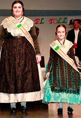 María Beser y Carolina Álvarez representantes de la Gaiata 10 El Toll