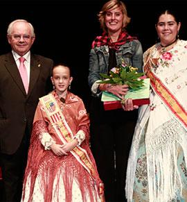 Presentación de las reinas del Centro Aragonés de Castellón