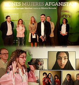 Inauguración de la exposición ´Mujeres en Afganistán´ de Gervasio Sánchez y Mónica Bernabé