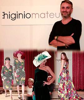 Desfile benéfico de moda de mayores de Higinio Mateu