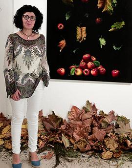 Tardor, exposición de Claudia de Vilafamés en el Espai Cultural Obert Les Aules