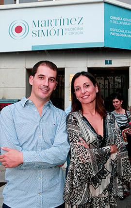 Inauguración de la nueva clínica de medicina y cirugía Martínez Simón