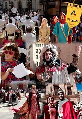 Desfile de las tres culturas en el Día de la Comunidad Valenciana