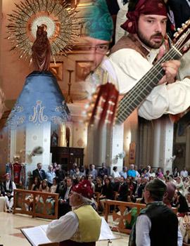 Los aragoneses en Castellón honran a su Virgen del Pilar