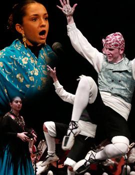 Gran Gala del folklore aragonés en el Teatro Principal