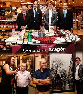 La Semana de Aragón y exposición de Jesús Monge en El Corte Inglés