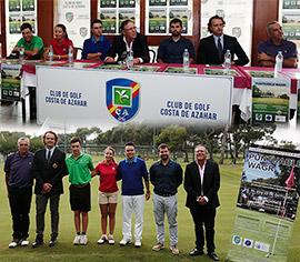 Presentación del III Campeonato Club de Golf Costa de Azahar   puntuable WAGR