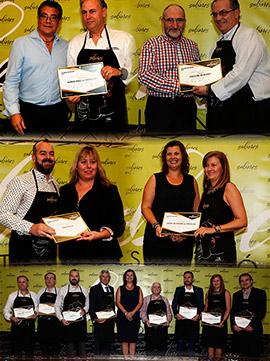 Sabores Castellón entrega los delantales de honor 2017