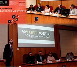 Ruralnostra participa en el II Workshop de economía valenciana