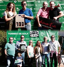 IV Torneo de Golf Onda Cero en el Club de Campo del Mediterráneo