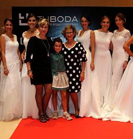 Trajes de novia y fiesta de Modas Rossy en Feria tu Boda