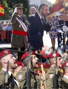 Acto de Jura de la Bandera en Vila-real