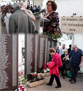 Actos en Castellón de recuerdo y homenaje a las víctimas de la represión franquista