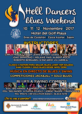 Hell Dancers Blues Weekend en el Hotel del Golf Playa