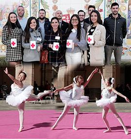 Cruz Roja muestra sus proyectos en las calles el Día de la Banderita