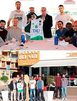 Distendida y motivadora comida de TAU Castelló en el Restaurante Puerta del Sol