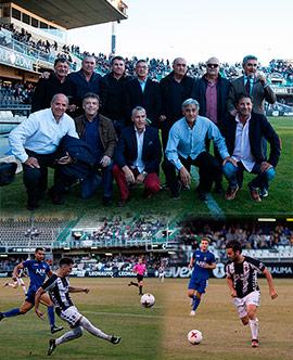 Empate del CD Castellón contra el Olímpic de Xàtiva