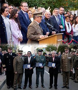 Acto institucional día de la Subdelegación de Defensa en Castellón