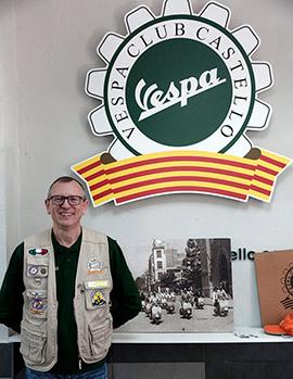 Fiesta  del 15 aniversario de Vespa Club Castelló