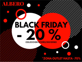 Albero con tres días de black friday