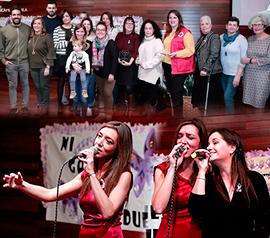 Homenaje en Benicàssim a las entidades colaboradoras en la campaña contra la violencia de género