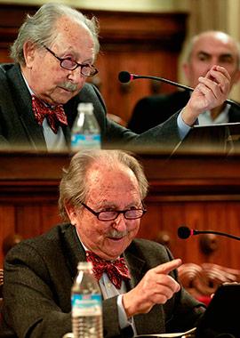 Conferencia de Federico García Moliner en el IES Francesc Ribalta de Castellón