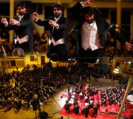 Multitudinario concierto de Navidad de la Orquesta Lírica de Castellón