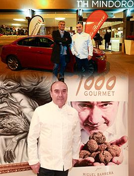 Presentación del licor de Miguel Barrera en el hotel NH Mindoro