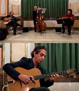Concierto de Fabian Barraza Django´s trio