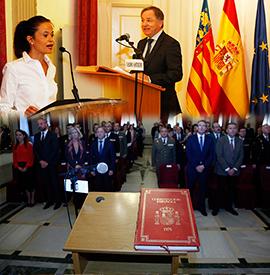Celebración del Día de la Constitución en Castellón