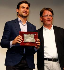 Reconocimiento a David Ferrer en la gala del tenis de Castellón