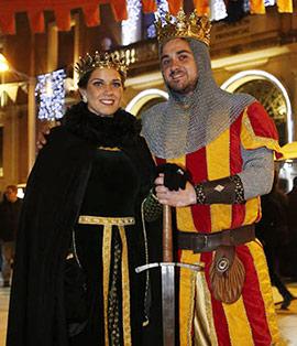 Castellón recrea su pasado histórico con el Mercado Medieval