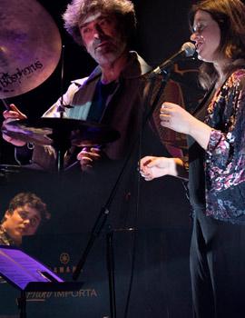 Cecilia Krull en concierto en el Raval