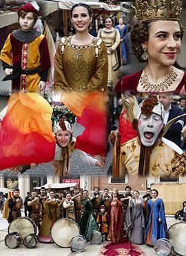 Imágenes del Mercado Medieval en Castellón
