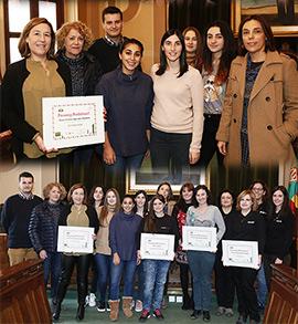 Entrega de premios del concurso de escaparates navideños en Castellón