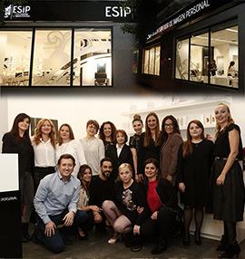 Inauguración de ESIP, Escuela Superior de Imagen Personal