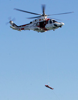 Simulacro de rescate en el Puerto de Castellón