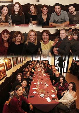Comida navideña del equipo de restauración de la Diputación de Castellón