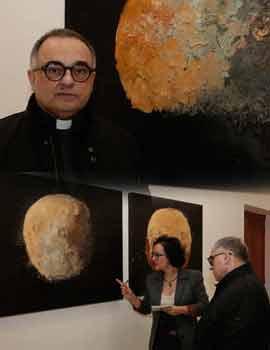Presentación de la  exposición de Michele Dolz ´De la Tierra´
