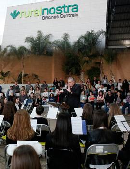 Concierto de la Banda Joven de Bexti organizado por Ruralnostra