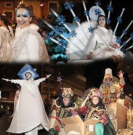 La Cabalgata de Reyes de Castellón en imágenes