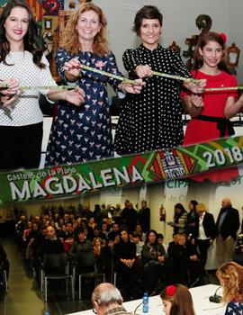 Presentación oficial de la ´´pulsera de Magdalena 2018´´