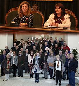 Reunión constitutiva del Consejo Municipal de Personas Mayores de Castellón