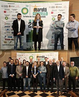 Agradecimiento a patrocinadores y colaboradores del VIII Marató BP Castelló