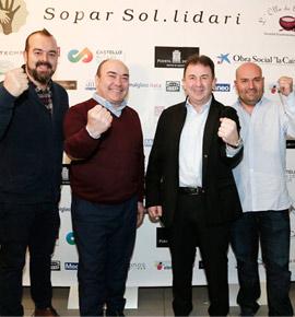Los chef Martín Berasategui, Pedro Salas, Miguel Barrera y Raúl Resino presentan la cena solidaria a beneficio de Acción contra el hambre